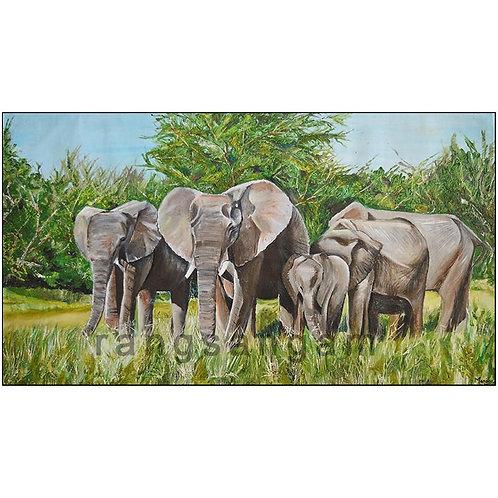Family | Oil on Canvas