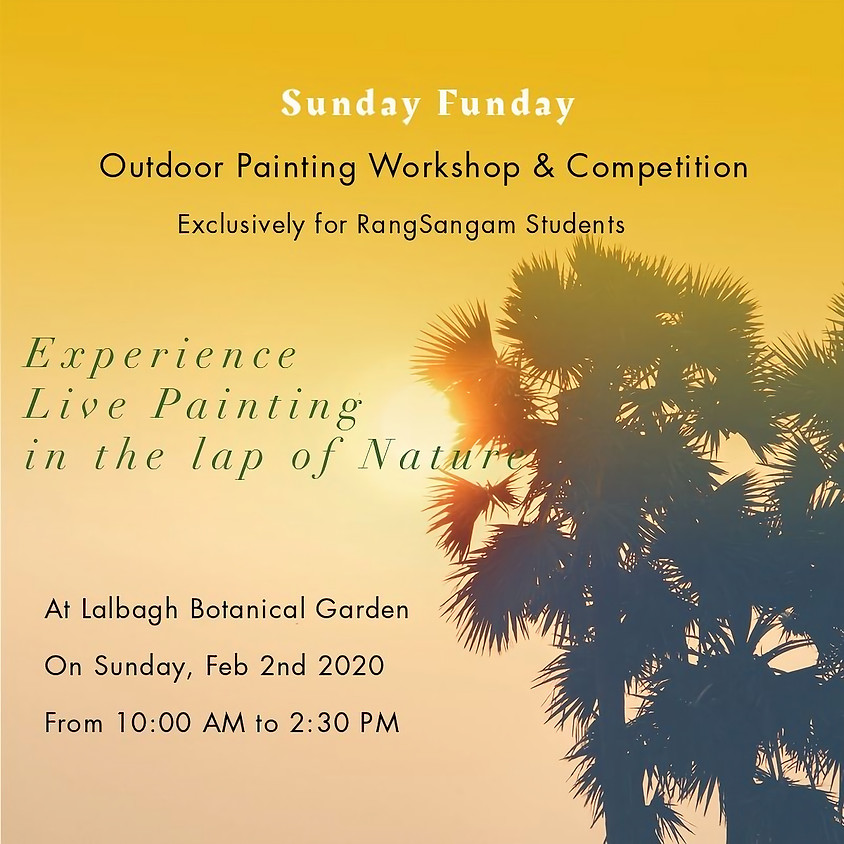 Outdoor Live Painting Workshop