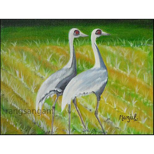 Birds | Oil on Canvas