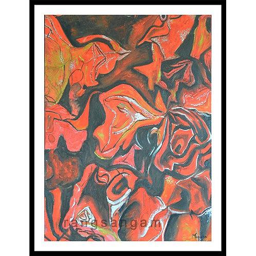 Petals  | Oil on Canvas