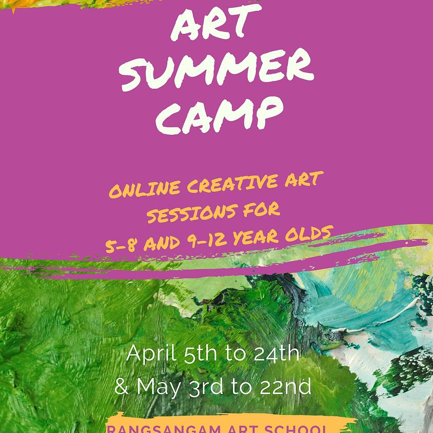 Art Summer Camp - Apr 21