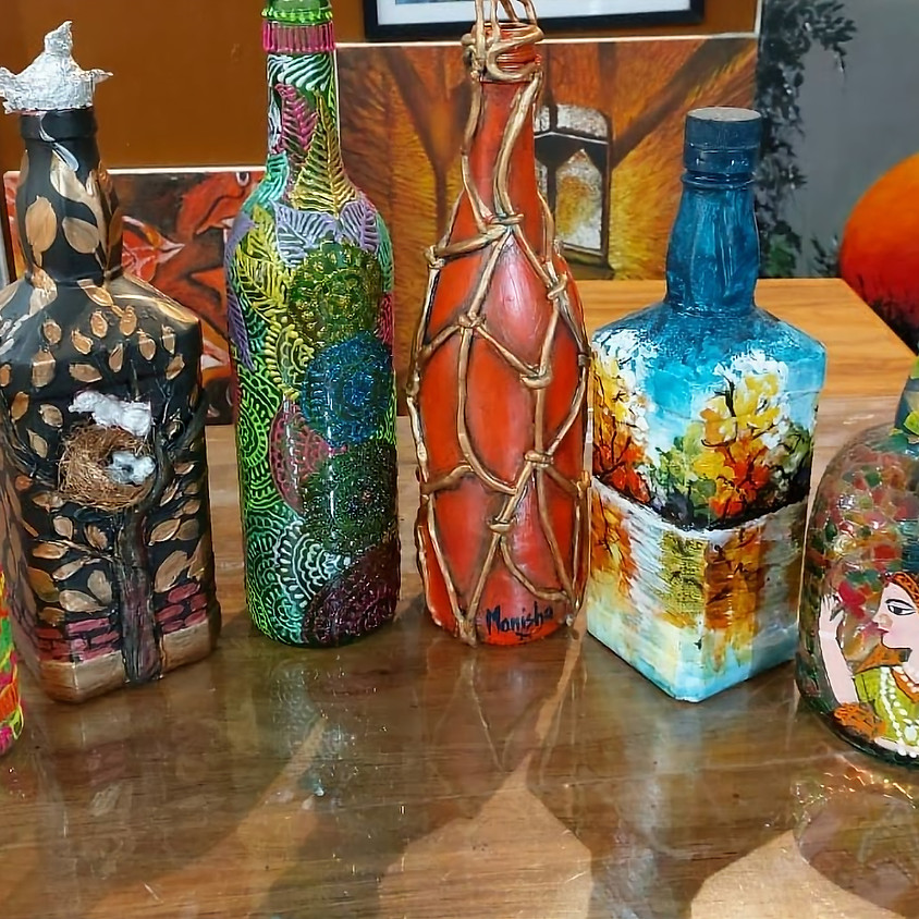 Women's Day Special - FREE Workshop on Bottle Painting Art