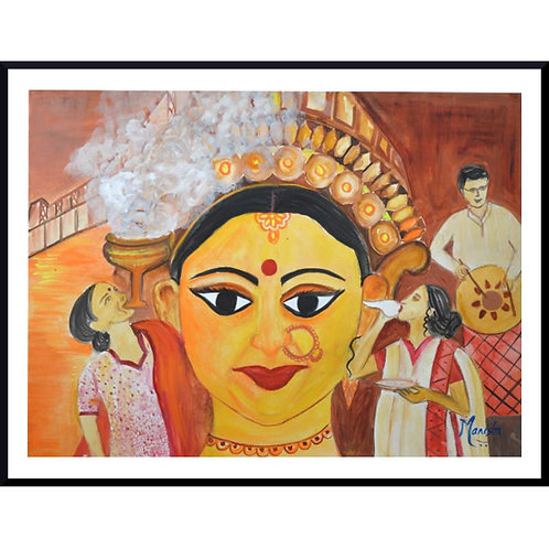 Shakthi | Watercolor on Paper