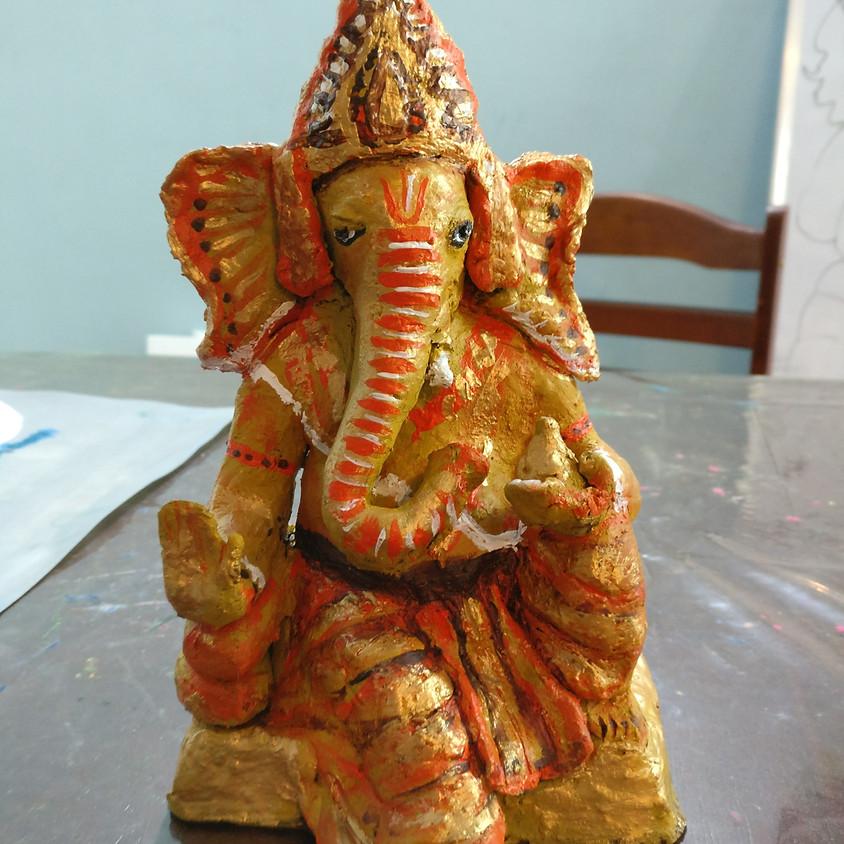 Ganesha idol making Workshop