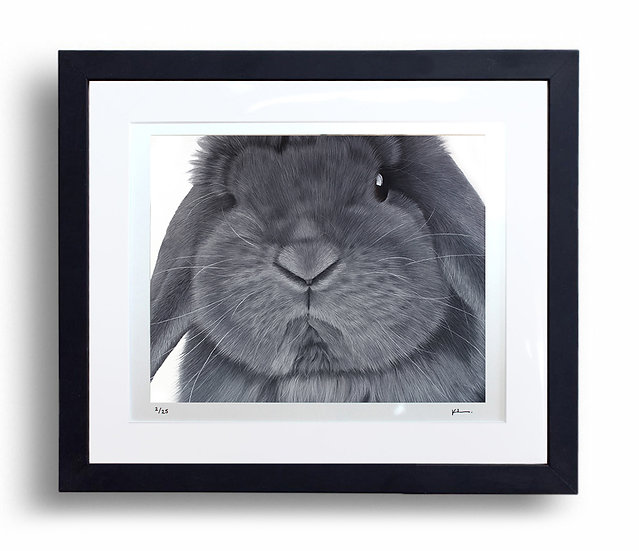 Limited Edition Signed Giclée Print Blue Self Lop