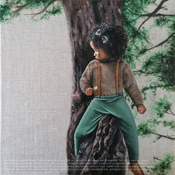 Ayanah in a Tree