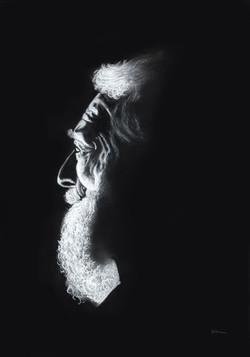 'The Old Man' Award Winning Painting