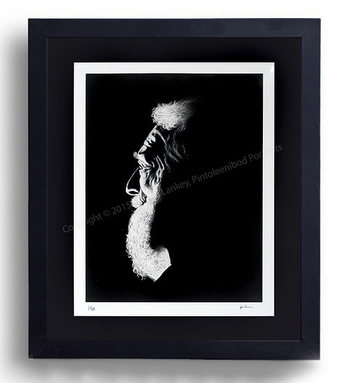Limited Edition Signed Giclée Print 'The Old Man'