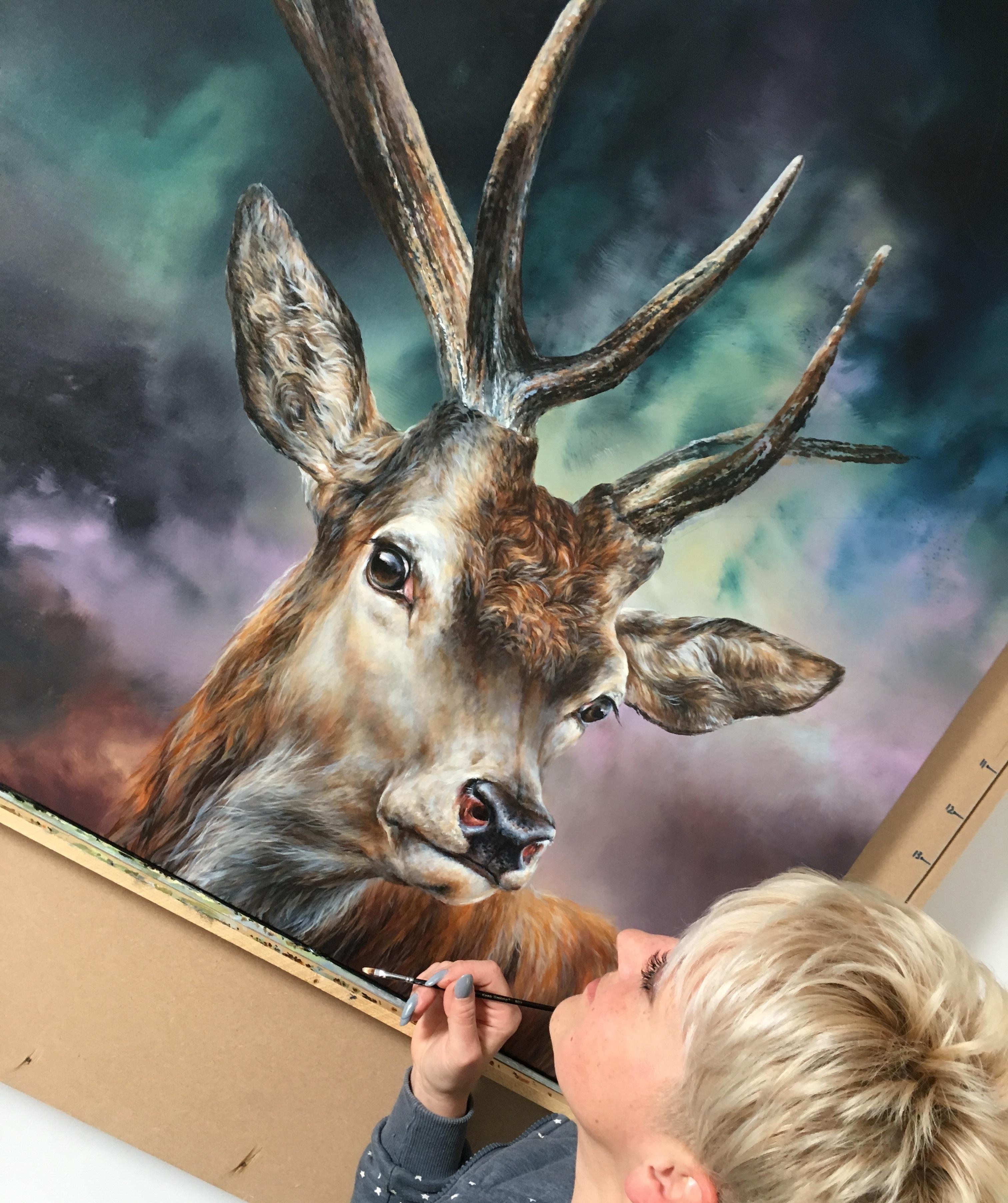 Radiant Deer