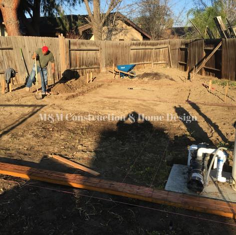New construction-Tranching