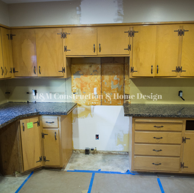 Before Kitchen refacing