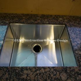 Before Kitchen refacing-countertop installation