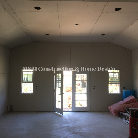 New Construction- Drywall