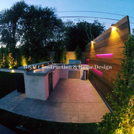 exterior renovation-Outdoor Kitchen