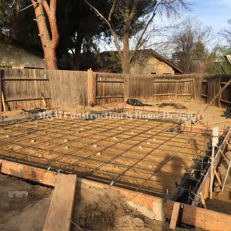 New construction-foundation