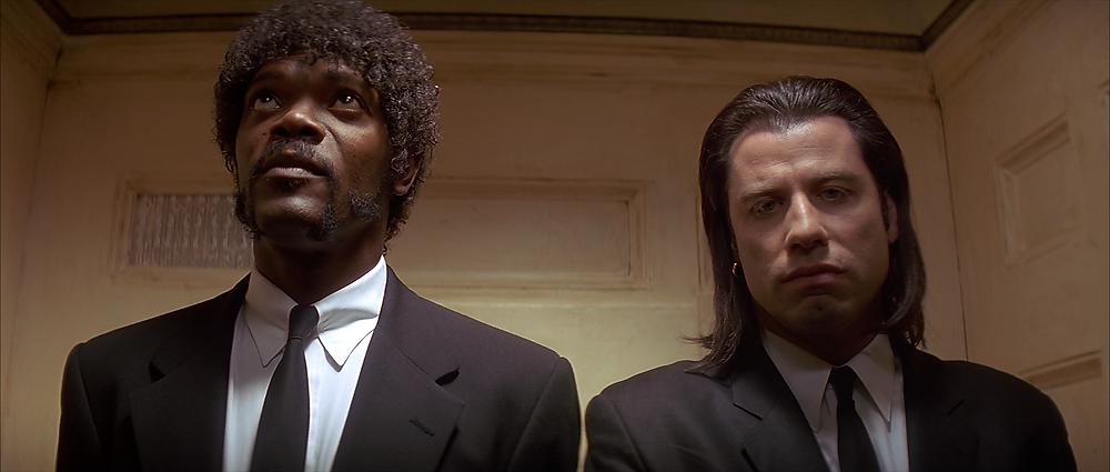 Still frame from Pulp Fiction movie