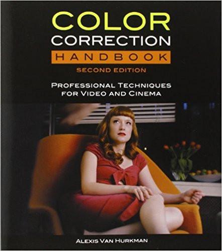 Color Correction Handbook by Alexis Van Hurkman Book Cover