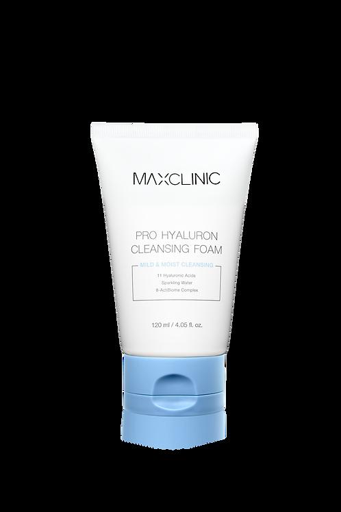 MAXCLINIC PRO HYALURON CLEANSING FOAM 120ml