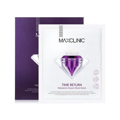 MAXCLINIC TIME RETURN MERATONIN CREAM MASK