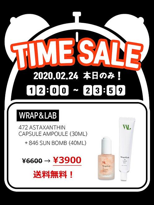 Wrap&Lab 472 Astaxanthin Ampoule + 846 Sunbomb