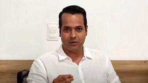 Vitor Valim responde perguntas dos caucaienses em live com mais de 500 pessoas simultaneamente