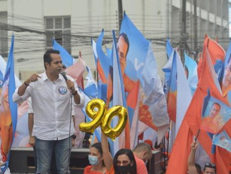 Caminhada da Libertação toma o centro de Caucaia