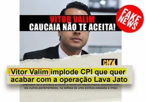 Vitor Valim contra a Lava Jato?
