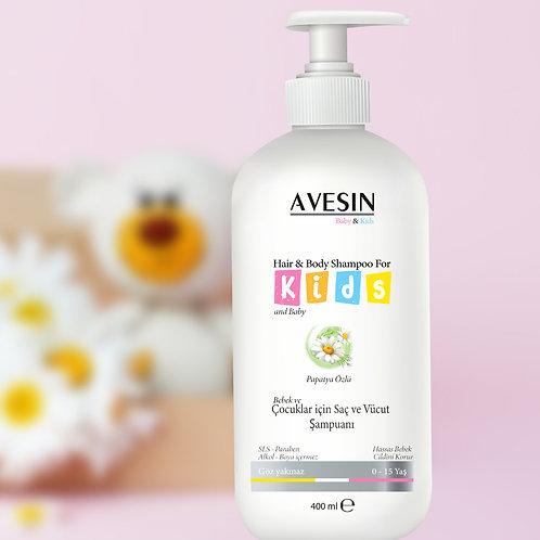 Avesin Papatya özlü bebek ve çocuk şampuanı 400 ML