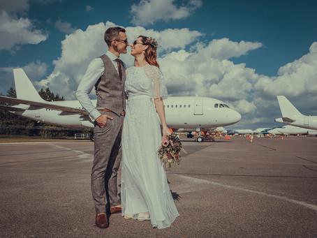 Netradicinės fotosesijų vietos: oro uostas? Kodėl gi ne!