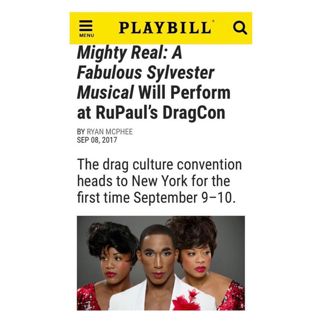 Mighty Real: A Fabulous Sylvester Musical Performs at RuPaul's DragCon