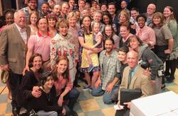 Hillary Clinton & Waitress Cast