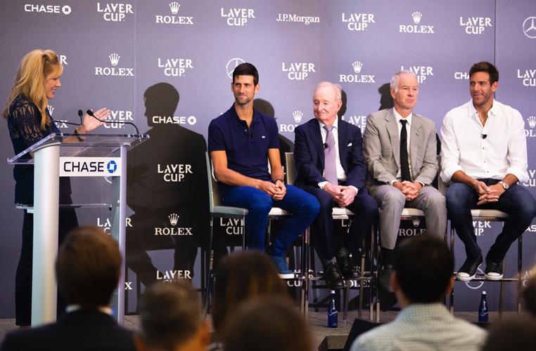 Laver Cup Press Conference   Photo: Ben Solomon