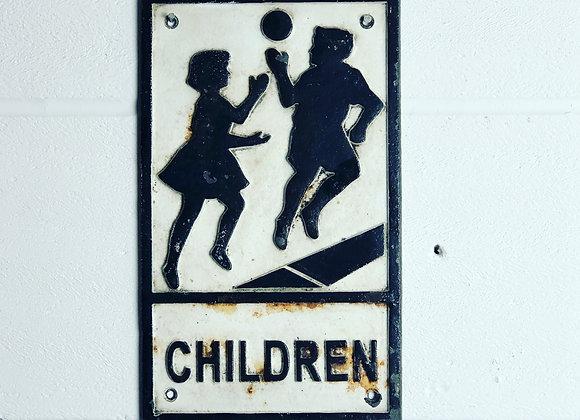 Road Safety Sign 'Children'