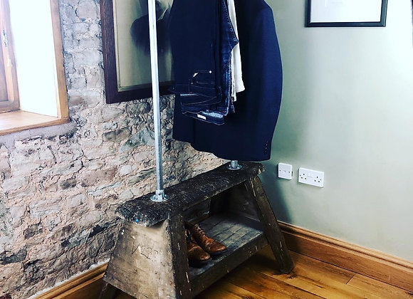 Re-purposed Valet Stand