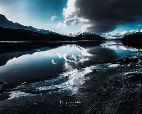 Dark Loch Ice