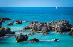 Sailing on Bermuda Seas Turquoise