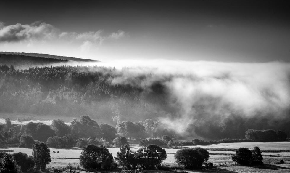 Mist on Ben Aigen, Speyside