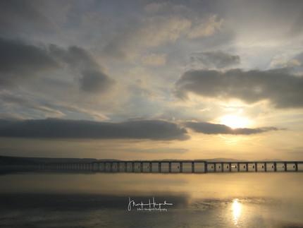 Dundee rail bridge over the Tay