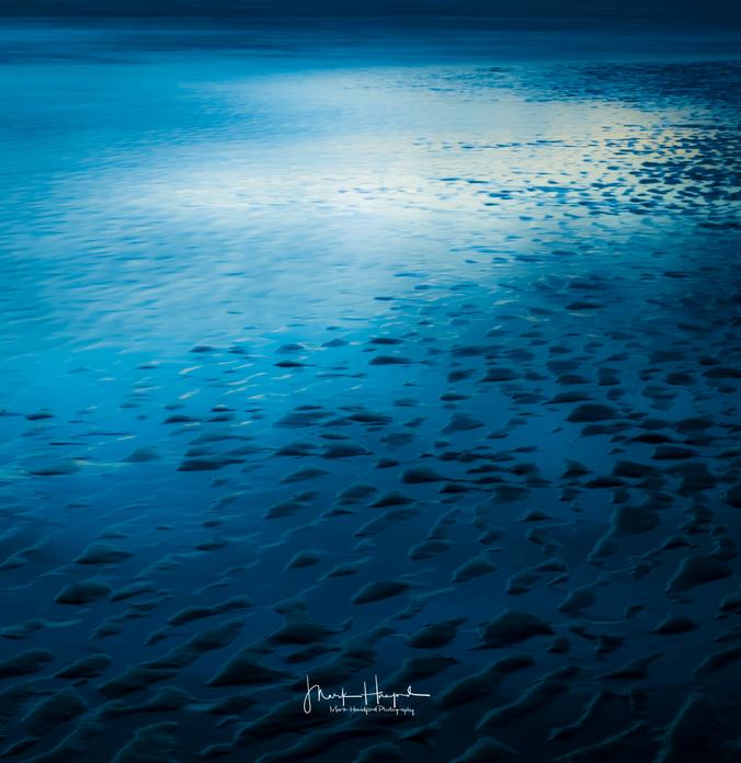 Monifieth tide marks, Scotland