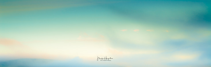 Abstract sky Speyside colours