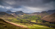 View from Cat Bells Lake District