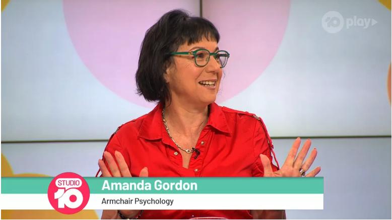 Amanda Gordon interviewed on Ch 10