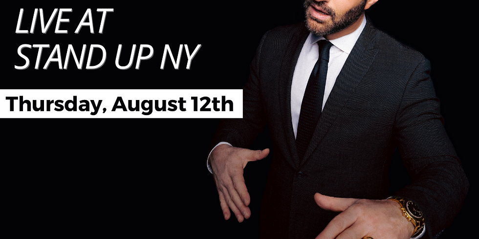 Modi at Stand Up NY - 7:00pm Show