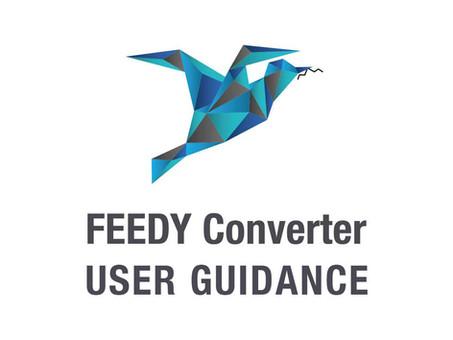 Feedy Converter - User Guidance