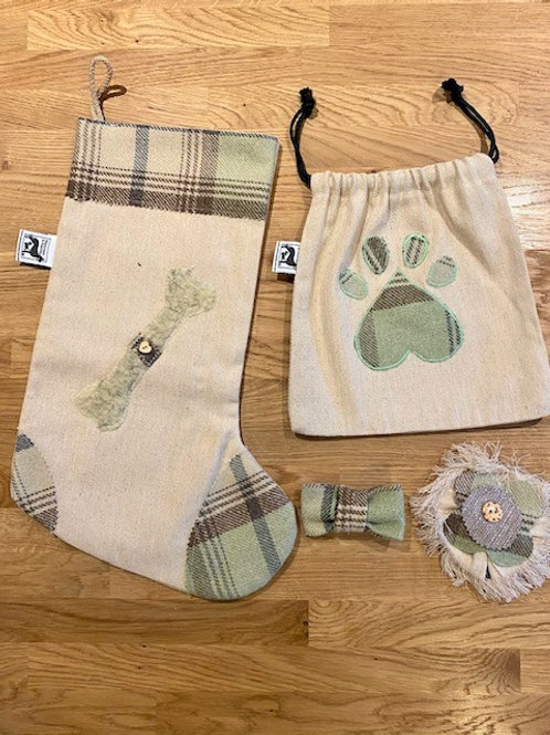 Luxurious Dog Xmas Stocking Sets From