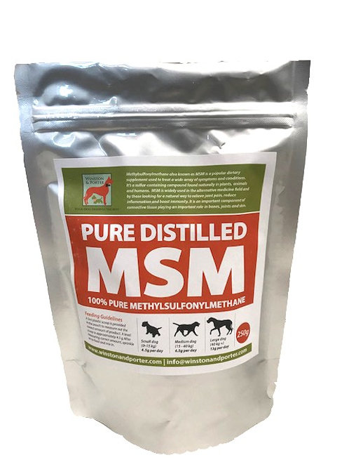 MSM for dogs - Pure Distilled