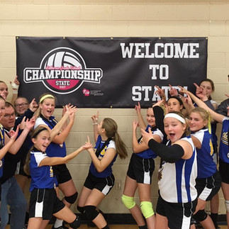 Girls Volleyball Going to State