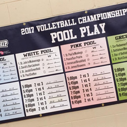 Volleyball Pool Play