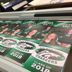 Girls Volleyball Banners