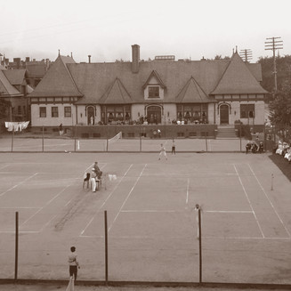 The State Tennis Championship at the Town Club
